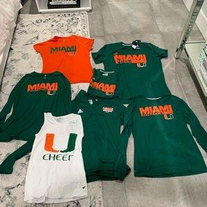 University of Miami Adidas Cheerleading Bundle